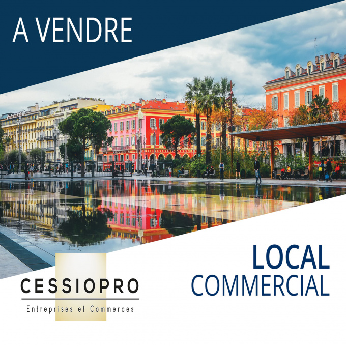 Vente Immobilier Professionnel Cession de droit au bail Cagnes-sur-Mer (06800)