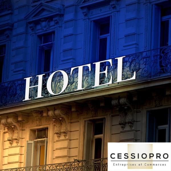 Hôtel 3* de 24 chambres – Murs et fonds indissociables. Secteur Cannes-Antibes - Hôtel Restaurant