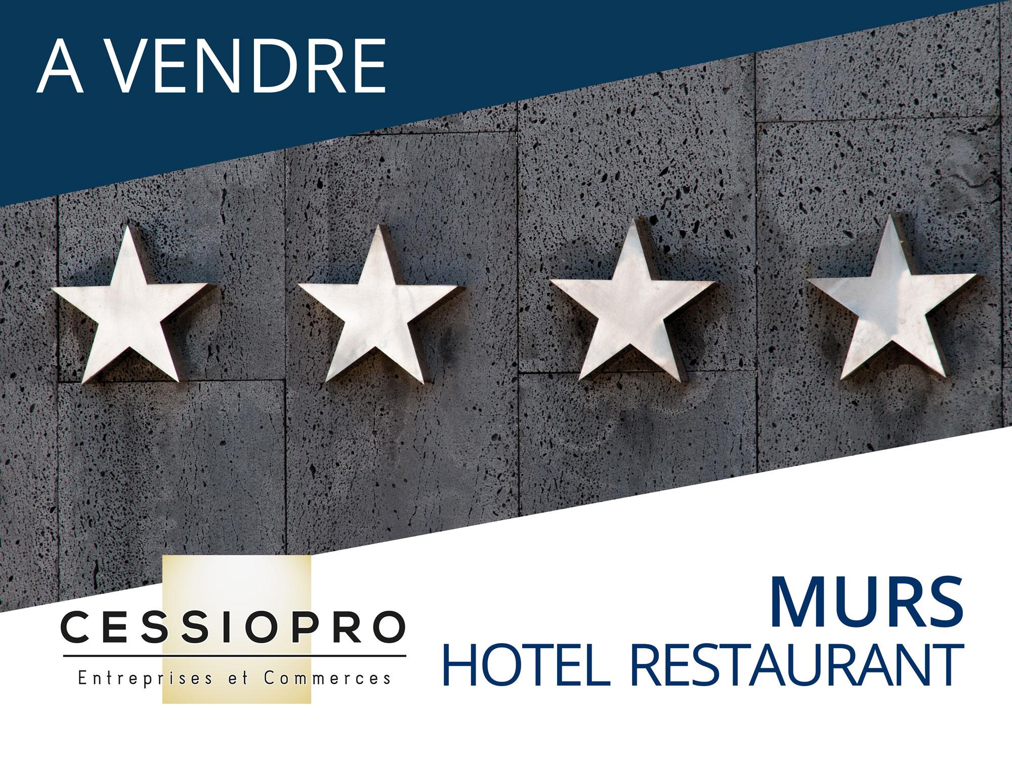 MURS ET FONDS D'UN HOTEL RESTAURANT *** PROCHE DU LITTORAL - Hôtel Restaurant
