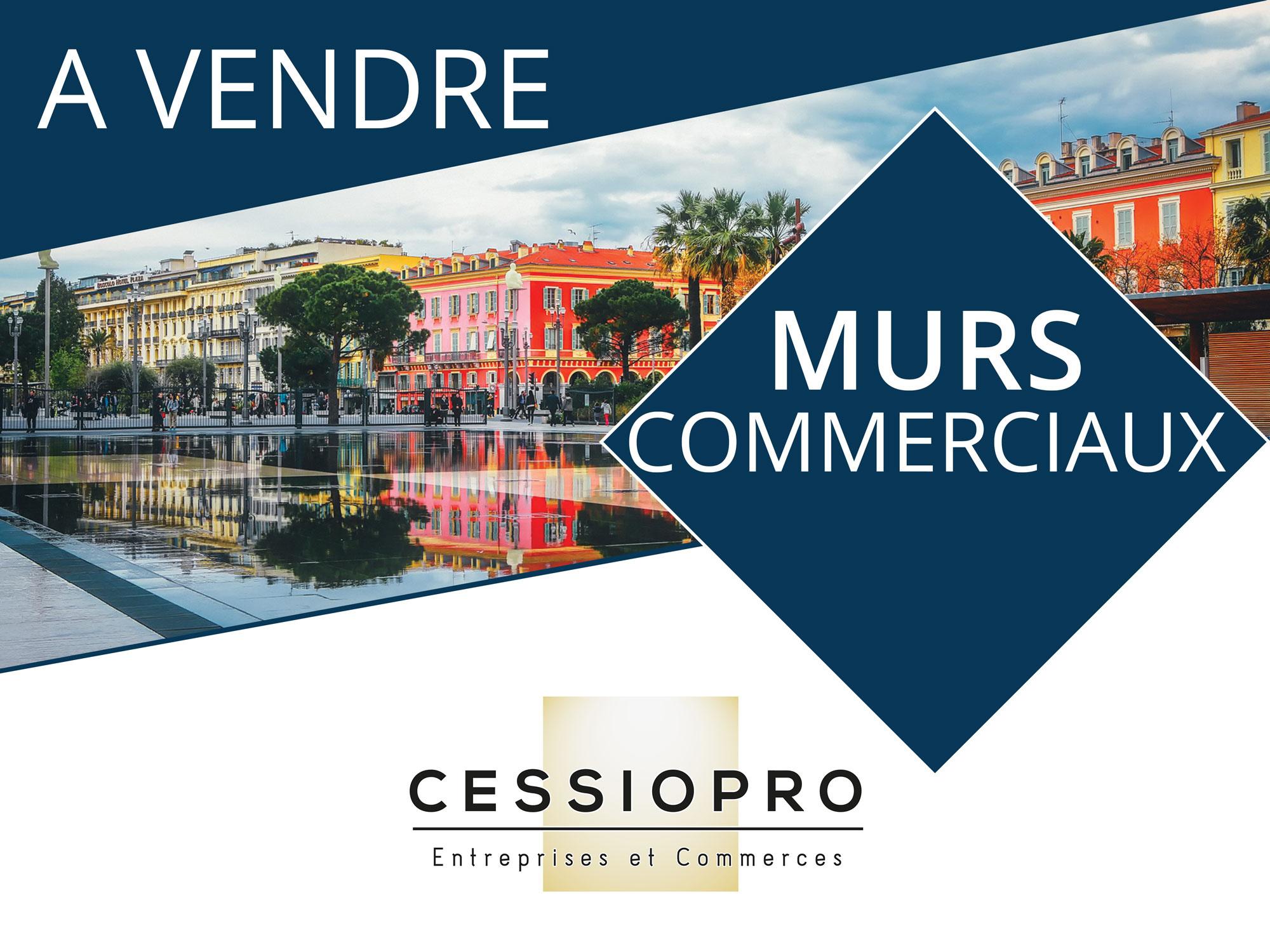 MURS COMMERCIAUX OCCUPES. RENTABILITE PRES DE 9% - TOULON CENTRE - Bureau Local Entrepôt